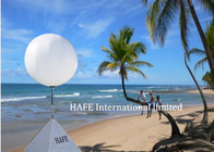 2000W Light Up Balloons Comfortable Day And Night Seaside Decoration Lighting