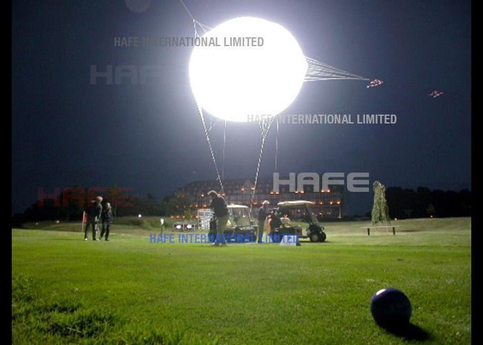 3 M Giant Moon Helium Balloon Lights Indoor Outdoor Events Flying AC / DC Power Supply