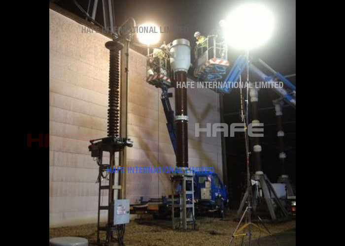Metal Halide Lamp Powered Moon Balloon Light , Multiquip Balloon Light For Industries