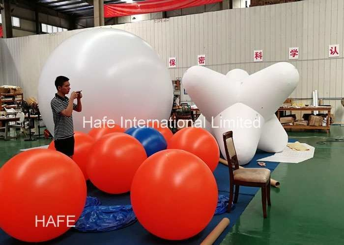 Commercial Grade Inflatable Lighting Decoration / Inflatable Balloon Light Indoor Events